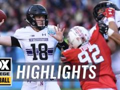 2018 Holiday Bowl: Northwestern vs Utah