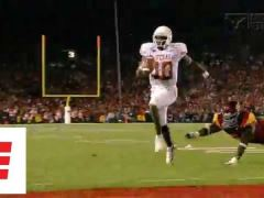 Texas vs USC in the 2006 Rose Bowl