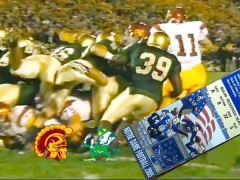 The 'Bush Push' Game of USC vs Notre Dame