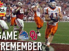Boise State Upsets Oklahoma in 2007 Fiesta Bowl