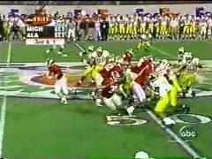 2000 Orange Bowl: Brady & Michigan Win by 1 in OT