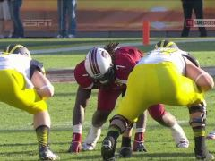 Jadeveon Clowney's 'The Hit' and Fumble Recovery