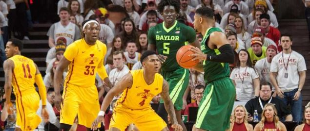 The Baylor Bears take on Iowa State.