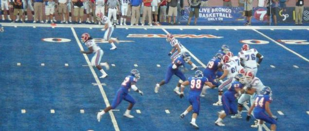 Boise State vs Louisiana Tech on October 1st, 2008.