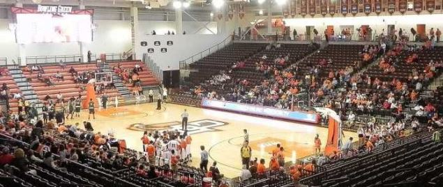 Bowling Green's Stroh Center prior to an exhibition game against Tiffin on 11/5/2011.