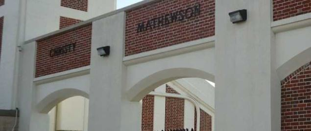 Christy Mathewson Memorial Gateway (stadium entrance), Bucknell University.