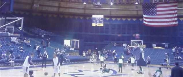 Big Sky Conference basketball contest between Montana State and Sacramento State.