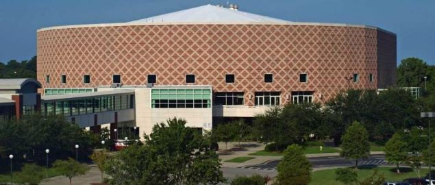 The North Charleston Colisuem.
