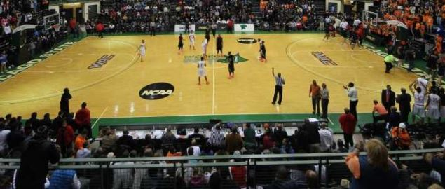 The Chicago State Cougars basketball court.