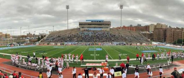 Columbia vs Cornell at Wien Stadium at Columbia University in 2018.