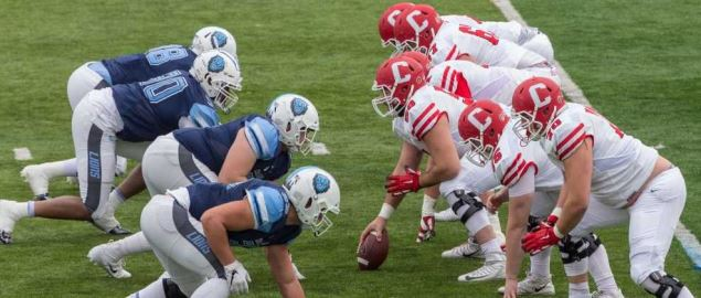 Cornell vs Columbia football at Wien Stadium, November 17, 2018