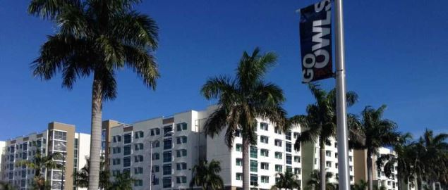 FAU's Innovation Village student apartments on Boca Raton campus.