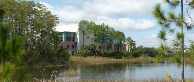 FGCU Library Complex.