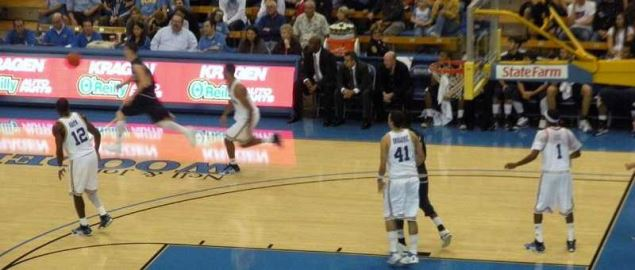 UCLA Bruins vs. FIU basketball at Pauley Pavilion, Nov. 29, 2008