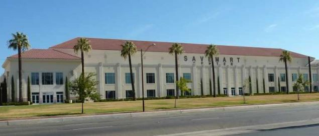 Save Mart Center at Fresno State, home of Fresno State basketball, Fresno, California.