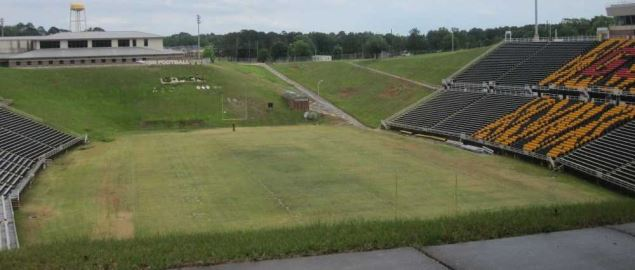 The Grambling State football stadium.