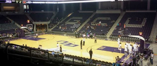 Pre-game in the Grand Canyon's University Arena.