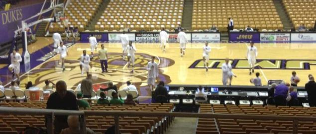 The Convocation Center at James Madison University.