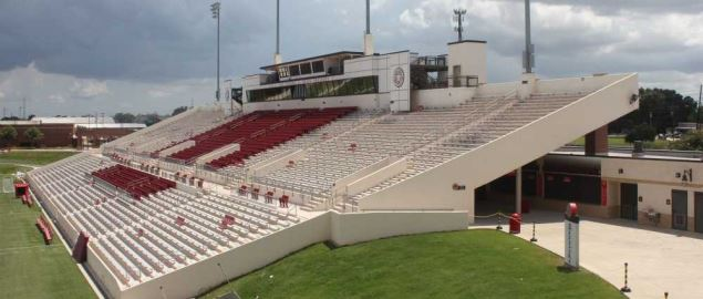 Provost Umphrey Stadium, home of the Lamar Cardinals.