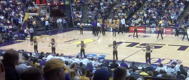 LSU Tiger's Pete Maravich Assembly Center during 2009 regular season home game.
