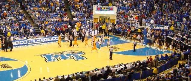 Murphy Center during the University of Tennessee vs. Middle Tennessee State game.