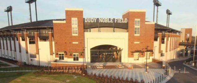 Dudy Noble Field, home to Mississippi State.