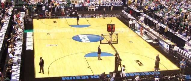 NCAA Tournament arena from 2009