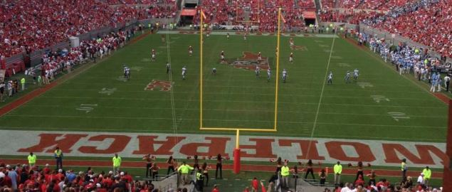 Carter-Finley Stadium during a NC State vs UNC-Chapel Hill game in November 2013.