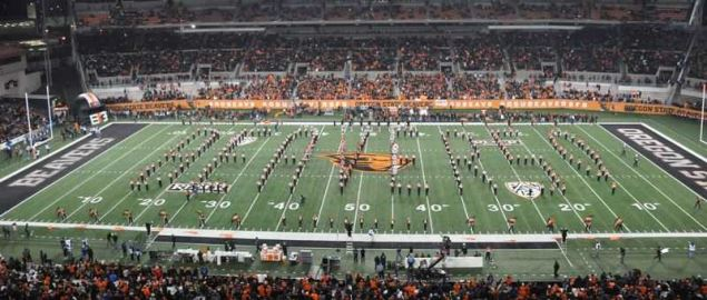 The Great Beaver Spell-Out as performed by the Oregon State University Marching Band.