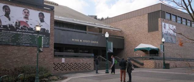 Peter W. Stott Center at Portland State University, home arena of Vikings basketball.