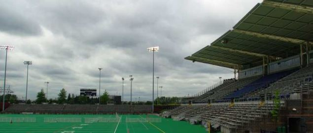 Portland State Vikings Hillsboro football stadium.