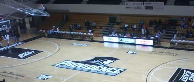 Providence Friars home arena of Alumni Hall.
