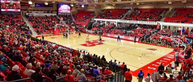 Stony Brook at home in 2017.