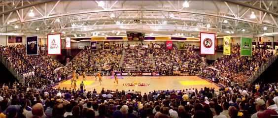 Albany hosting a game at their SEFCU Arena in 2006.