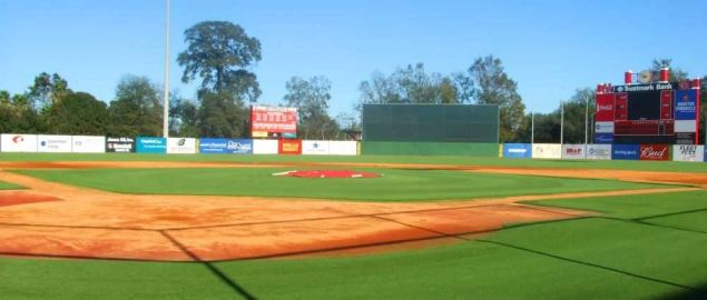 Cougar Field at the University of Houston.