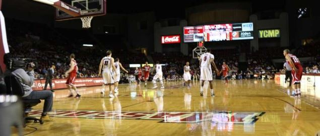 2013 UMass Men's Basketball game.