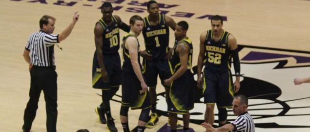 2012-13 Michigan Wolverines vs Northwestern.