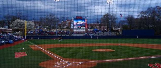 Swayze Field, in Oxford, MS. Home of the Ole Miss Rebels.