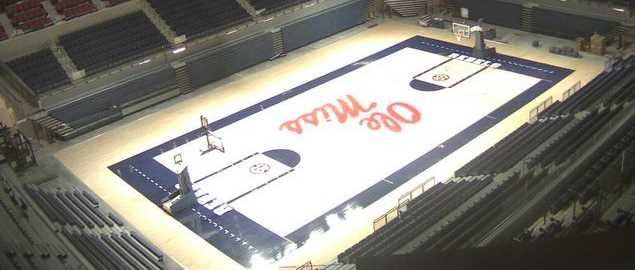 The Pavilion at Ole Miss, home arena of the Ole Miss Rebels basketball team.