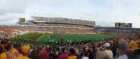 Missouri Tigers vs Minnesota Gophers in the 2015 Citrus Bowl.