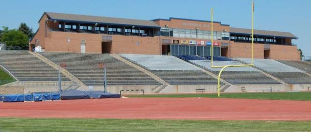 Northern Colorado Bears Nottingham Field main football stadium.