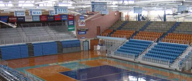 Football & Basketball Facilities at University of Rhode Island.