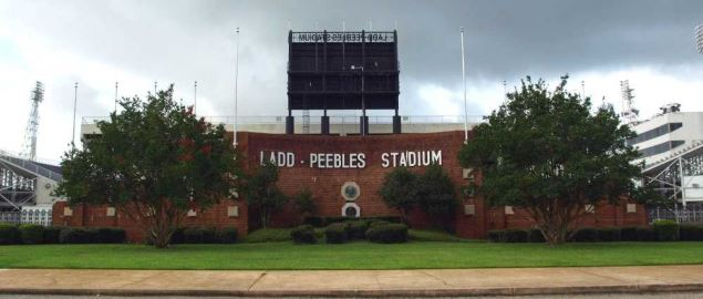 The USA Ladd–Peebles Stadium in Mobile, Alabama.