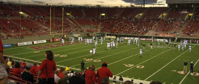 UNLV's Sam Boyd Stadium during a home game vs Nevada in 2010.