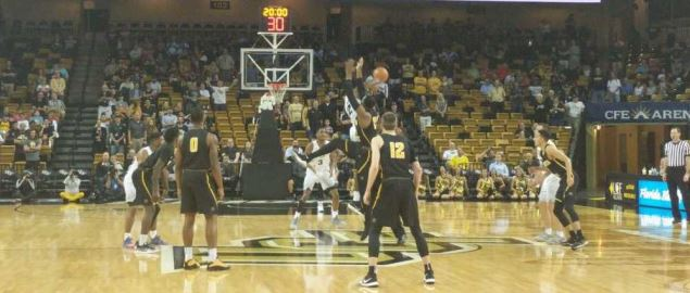 Tip off of Wichita State at UCF.